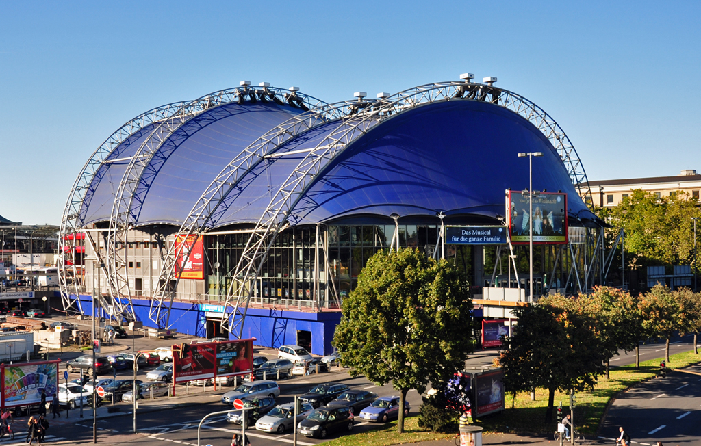 Blue Man Group Musical Dome Köln